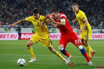 UEFA Nations League: Rusia vs Swedia