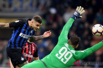 Inter Menangi Derbi Milan