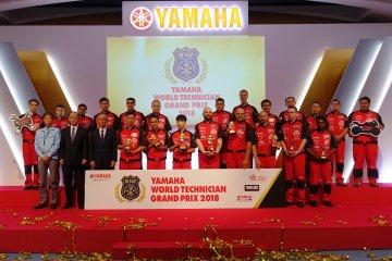 Mekanik Indonesia sabet juara dua Kompetisi Teknisi Yamaha di Jepang