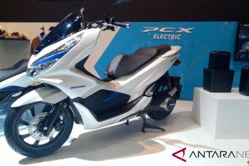Belum dipasarkan, Honda pamer PCX Electric di IMOS 2018