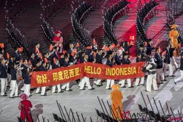 Defile Kontingen Atlit Asian Para Games 2018
