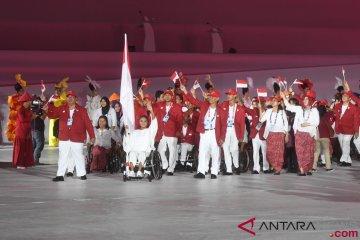 Kontingen Indonesia Pembukaan Asian Para  Games 2018