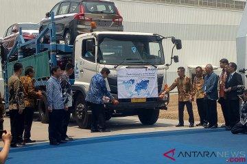 Suzuki resmikan ekspor perdana All New Ertiga dan NEX II