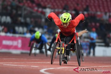 Asian Para Games : Penyisihan 200 meter Putri T54