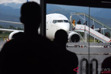 Bandara Palu Mulai Normal