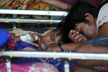 Perawatan Korban Gempa dan Tsunami