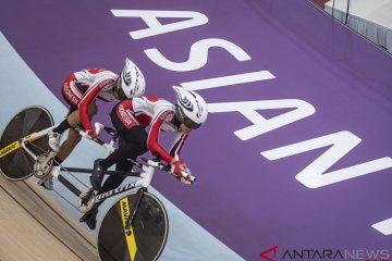 Medali Perak Indonesia Balap Sepeda Trek Asian Para Games