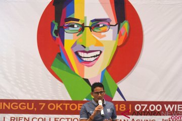 Kampanye Sandiaga Uno di Jember