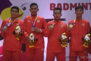 Medali Emas dan Perak Ganda Putra SU5 Asian Para Games