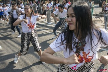 Flash Mob Indonesia Menari 2018