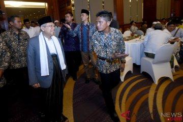 Silaturahmi Ma'ruf Amin dengan Ulama Se-Jawa Timur