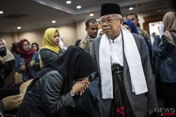 Ma'ruf Amin Hadiri Rapim IPPNU
