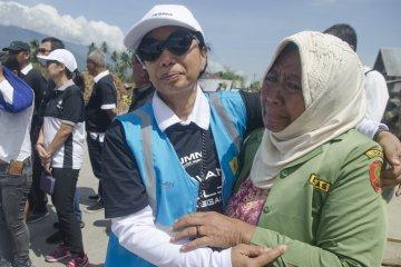 Menteri BUMN Kunjungi Lokasi Gempa di Sigi