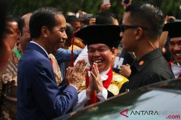 Orasi Ilmiah Presiden Jokowi di USU