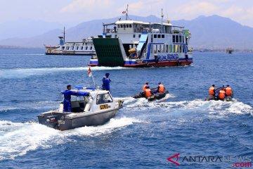 Patroli Laut Pengamanan Pertemuan IMF-WBG di Bali