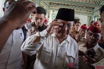Prabowo Kunjungi Pura Mangkunegaran