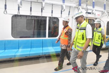Presiden JICA Kunjungi Depo MRT