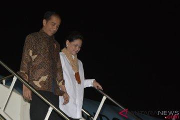 Presiden Jokowi Tiba di Bali