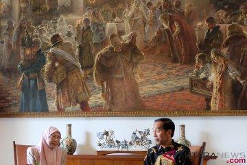 Presiden Jokowi Bertemu Dato Seri Wan Azizah Wan Ismail