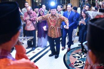Prabowo Subianto Hadiri Silaturahmi Kebangsaan