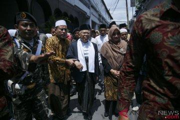 Silaturahmi Ma'ruf Amin Di Yogyakarta