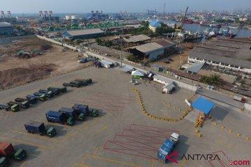 Uji Coba Buffer Pelabuhan Tanjung Priok