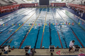 Uji Coba Arena Renang Asian Para Games 2018