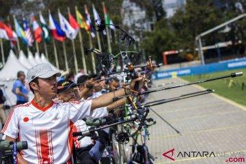 Uji Coba Lapangan Panahan Asian Para Games 2018