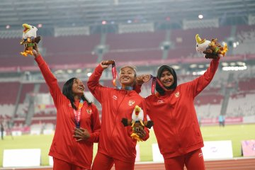 Daftar perolehan medali Asian Para Games (Kamis siang)