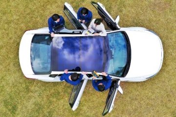 """Mobil listrik Kia-Hyundai bisa """"dicas"""" pakai sinar matahari"""