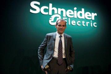 Saham Schneider Electric melonjak ketika Bursa Prancis menguat