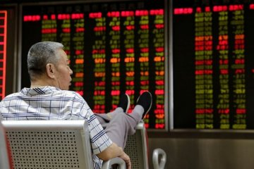 Lanjutkan tren penguatan, saham China berakhir lebih tinggi