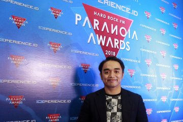 "Dipha Barus ""DJ of The Year"" Paranoia Awards 2018"