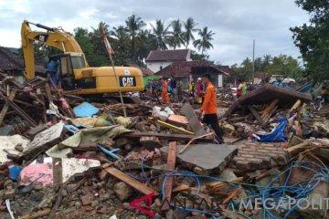 Upaya Tim SAR gabungan cari korban tsunami Lampung