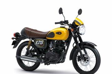 Kawasaki hadirkan varian baru W175