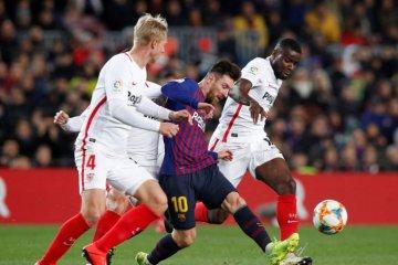 Copa del Rey: Gilas Sevilla 6-1, Barcelona ke Semifinal
