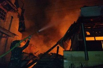 Empat rumah di Kapuas Hulu terbakar selama bulan Ramadhan