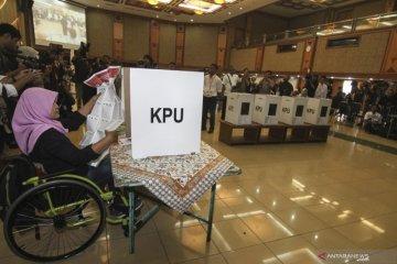 Simulasi Pemilu bagi penyandang disabilitas