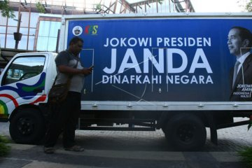 Alat Peraga Kampanye Jokowi