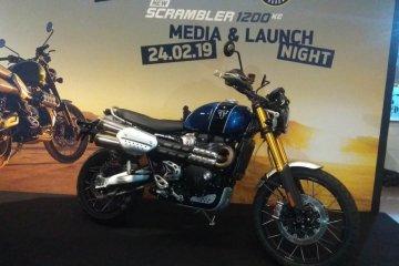 Triumph mulai pasarkan New Scrambler 1200 XE
