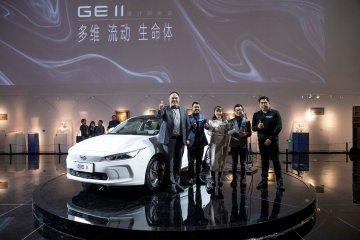 Ini tampilan sedan listrik pertama Geely untuk pasar global