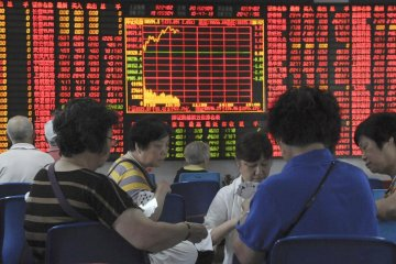 Bursa China menguat, Indeks Shanghai ditutup naik 0,39 persen