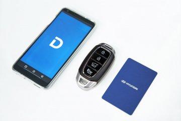 Kunci digital Hyundai, buka pintu hingga nyalakan mobil pakai ponsel
