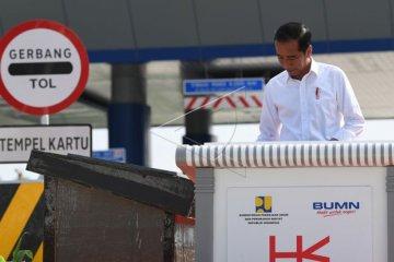 Presiden Resmikan Tol Trans Sumatera