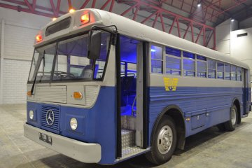 Legenda transportasi Indonesia di Classic N Unique Bus 2019