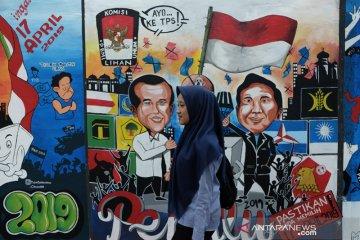 Mural Sosialisasi Pemilu 2019