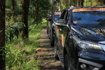 Promosikan Hutan Wisata, cara Komunitas Fortuner rayakan hari jadi