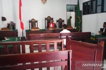 Penjemput 83,57 gram sabu jalani persidangan di PN Ambon