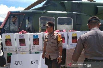 HELIKOPTER TNI AD PENGANGKUT LOGISTIK PEMILU 2019