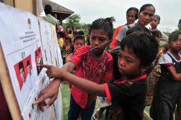 Pemilu 2019 di pemukiman Suku Anak Dalam